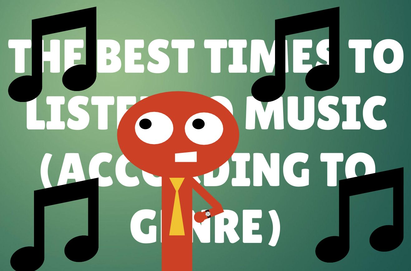 The Best Times To Listen To Music – According to Genre
