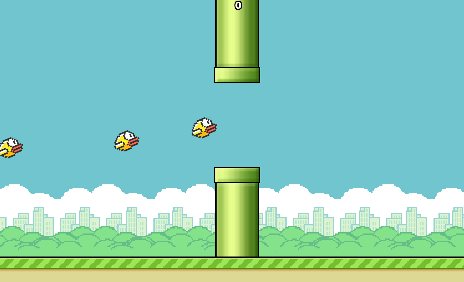 The Flappy Bird Symphony