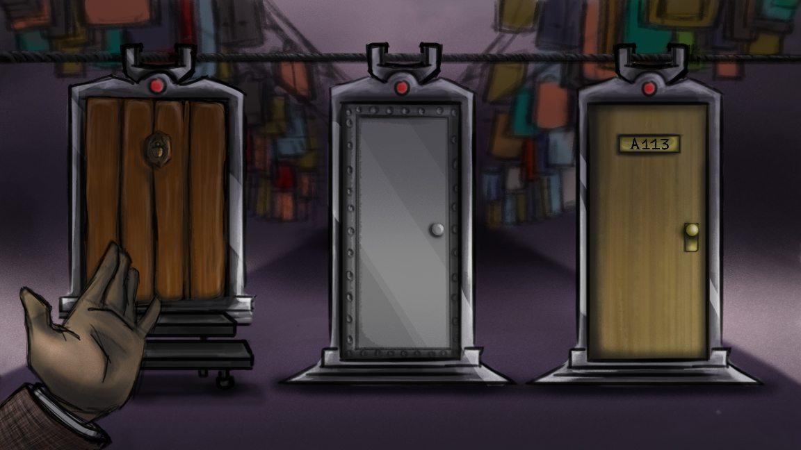 The Pixar Detective, Chapter 3: Three Doors