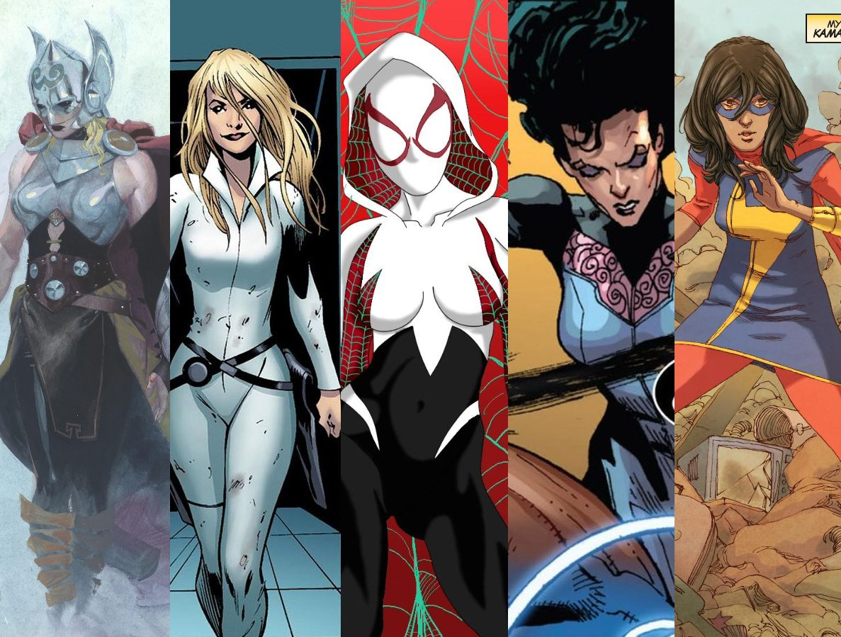 female teen titans marvel