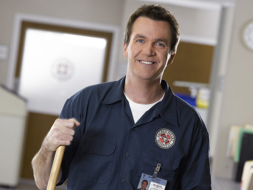 The True Name of the Janitor From 'Scrubs'