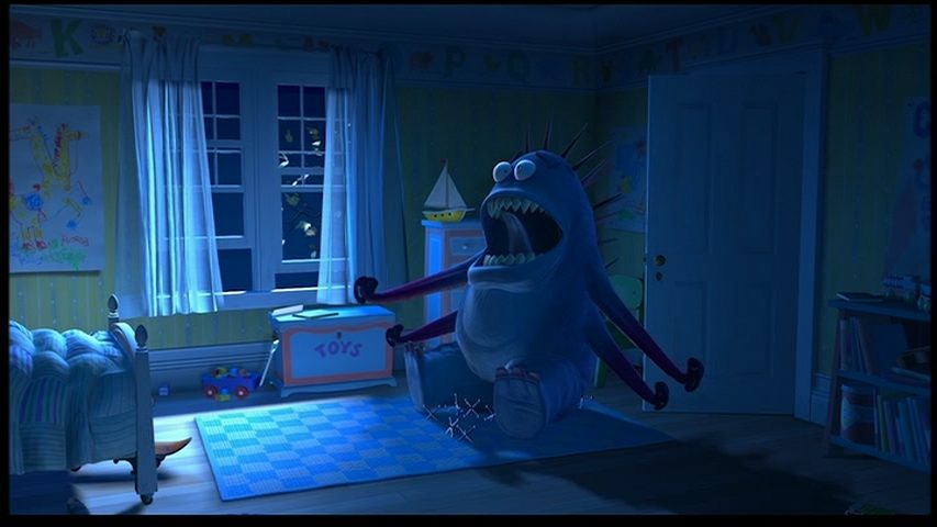 toy story monsters inc theory