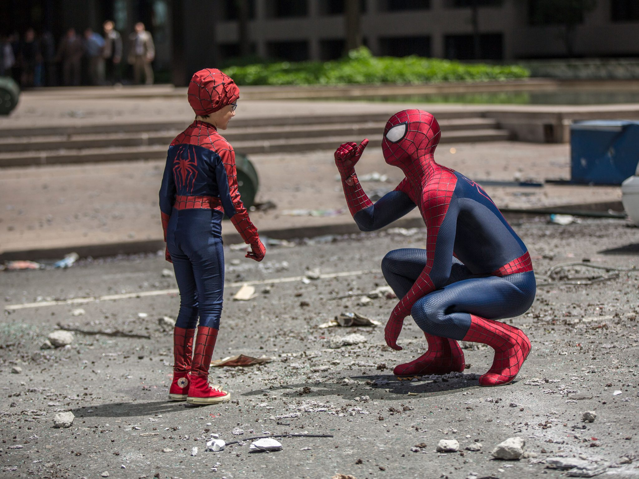 spider-man vs. amazing spider-man