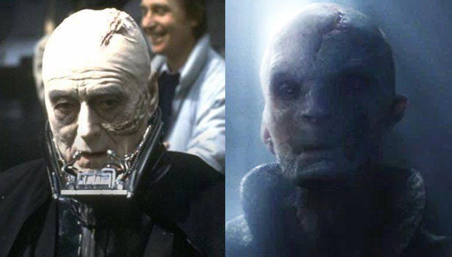 Snarcasm: Supreme Leader Snoke Is Secretly Every Character in Star Wars