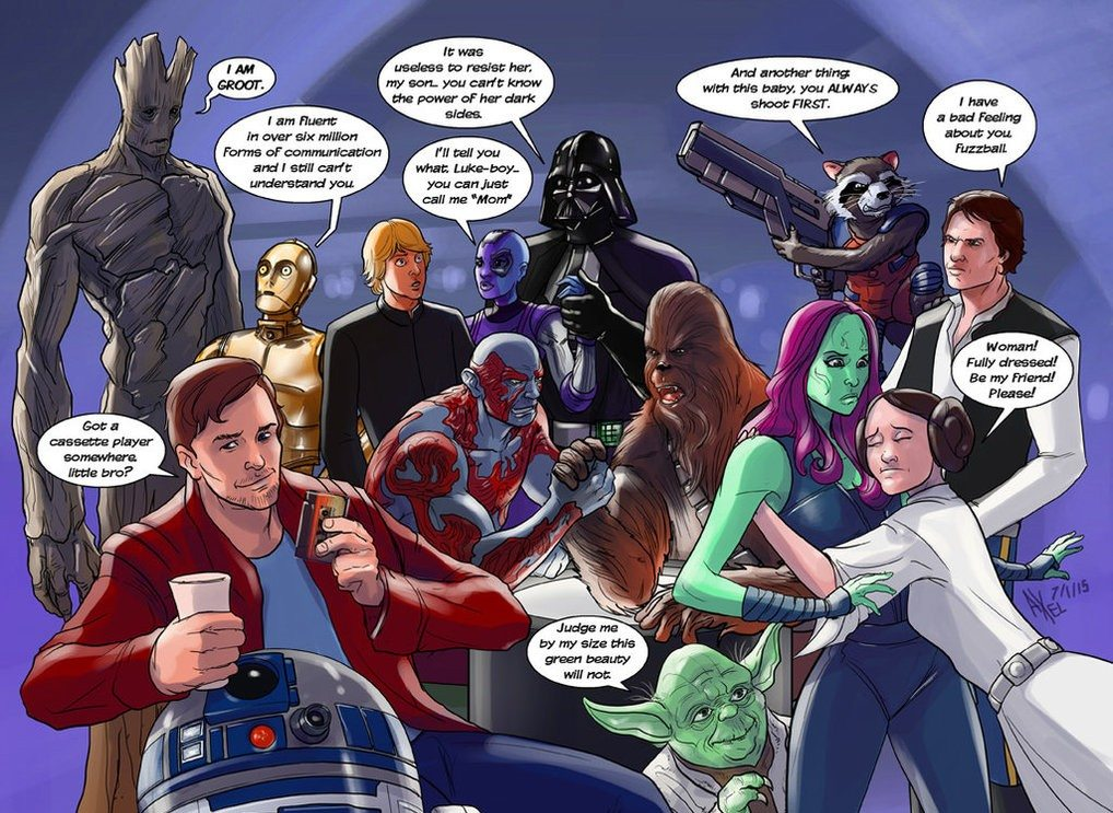 star wars marvel