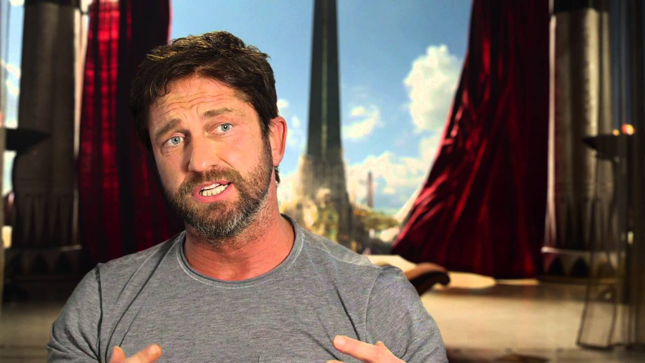 No More Questions: Gerard Butler from 'Gods of Egypt'