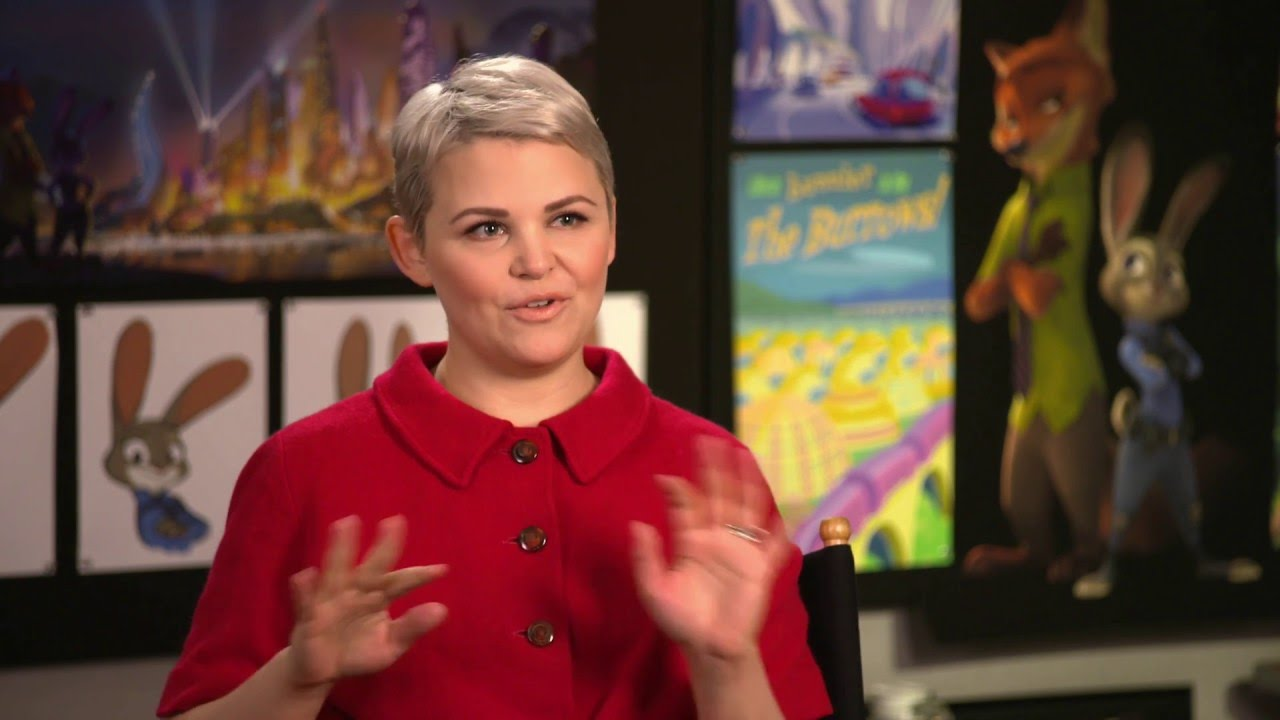 No More Questions: Ginnifer Goodwin from 'Zootopia'