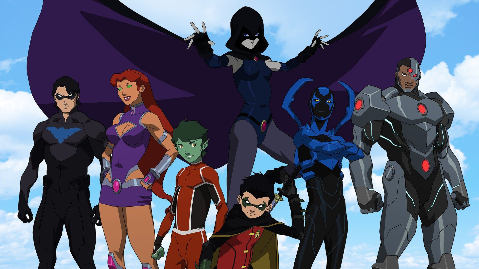 Review Justice League Vs Teen Titans Is An Exciting -9960