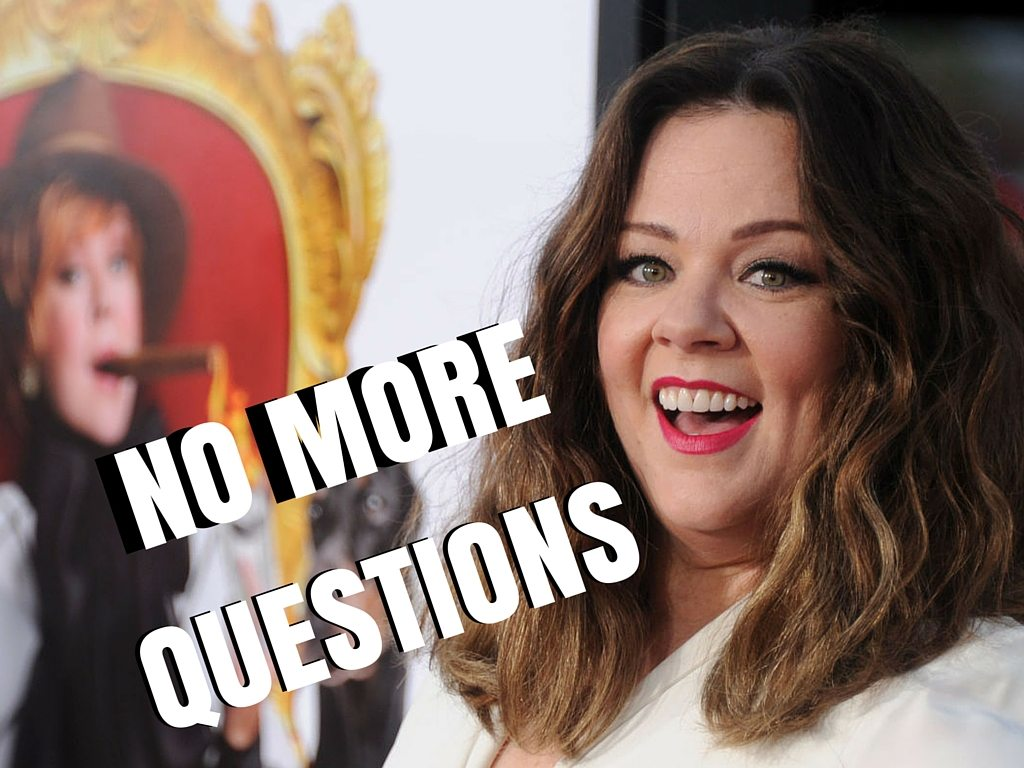 No More Questions: Melissa McCarthy from 'The Boss'