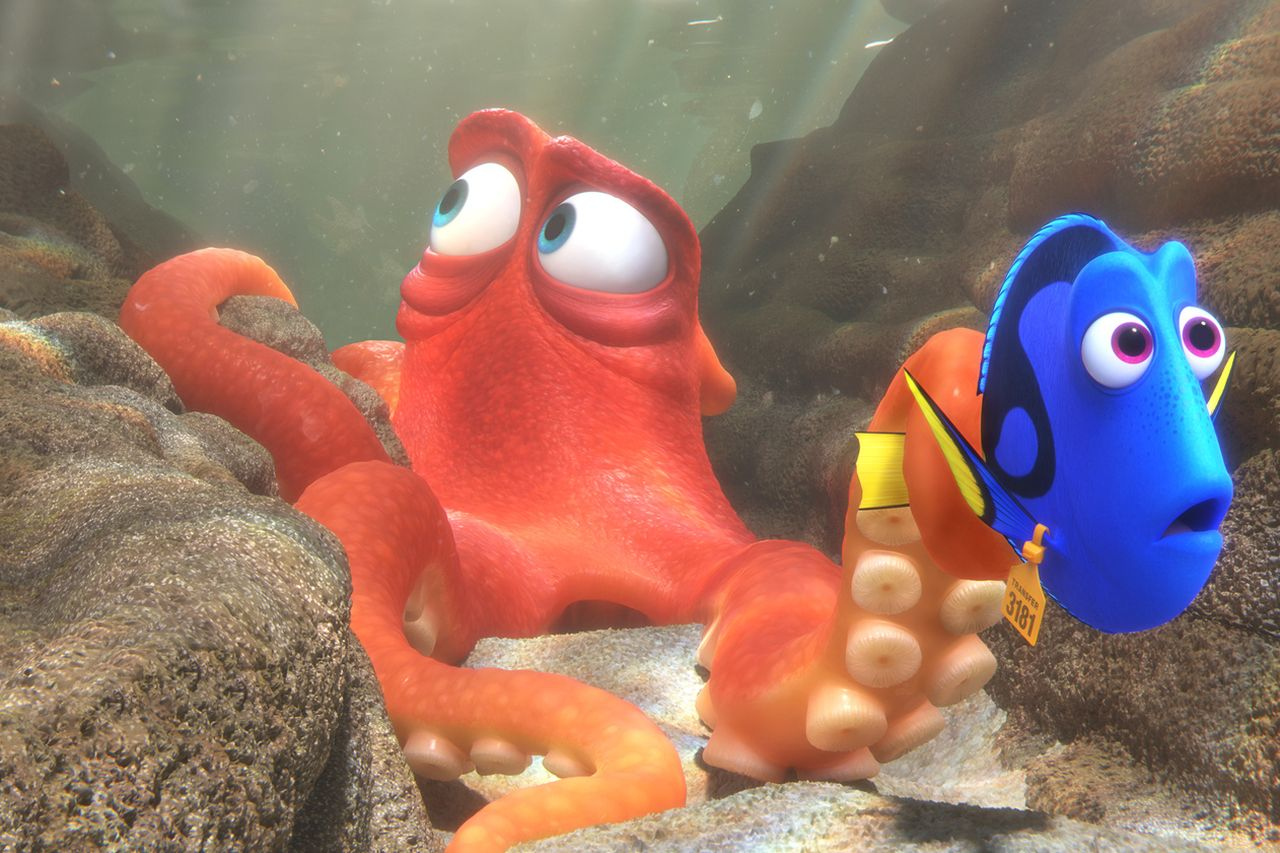 finding dory pixar theory
