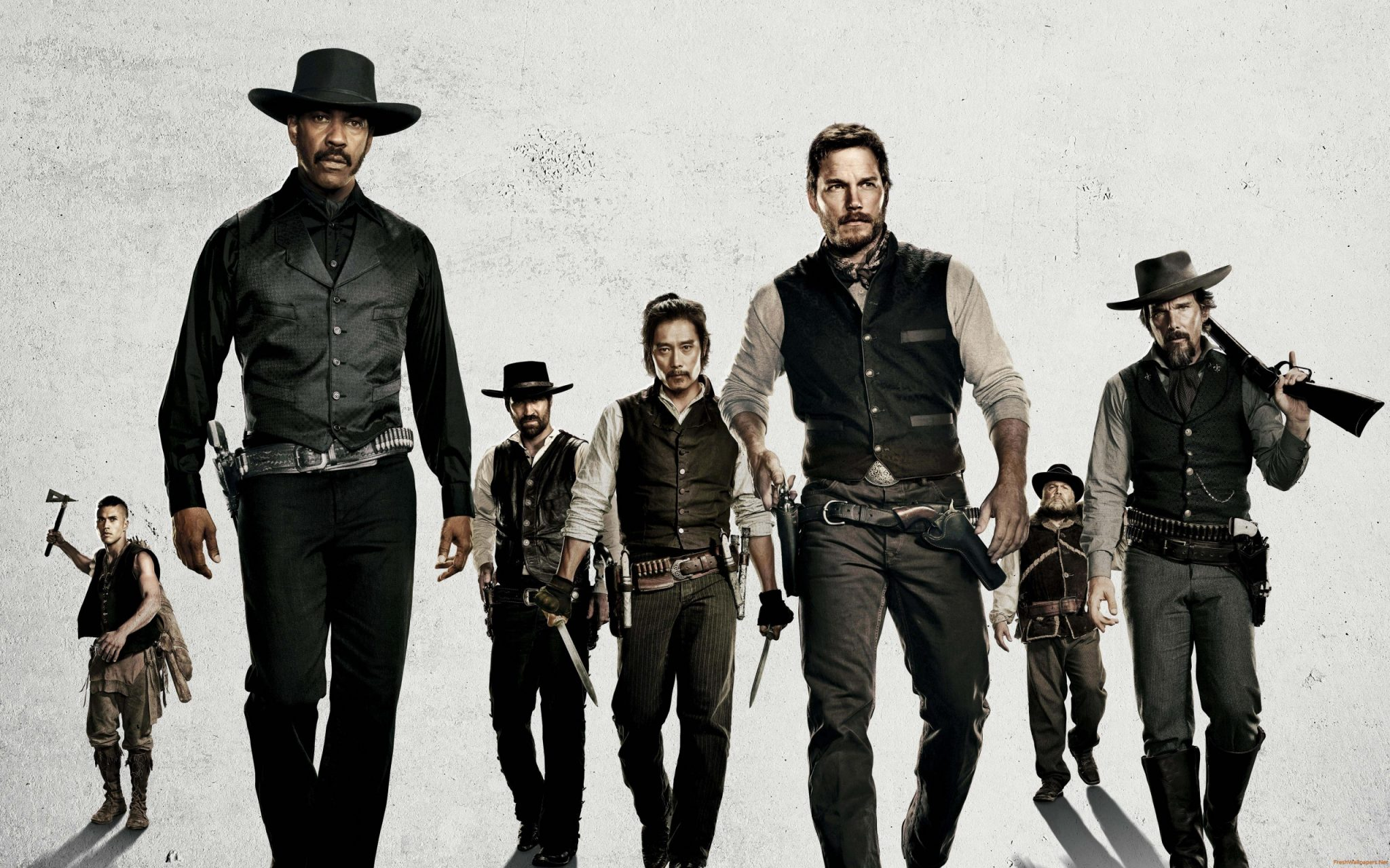 Review: 'The Magnificent Seven' Is Enjoyably Average