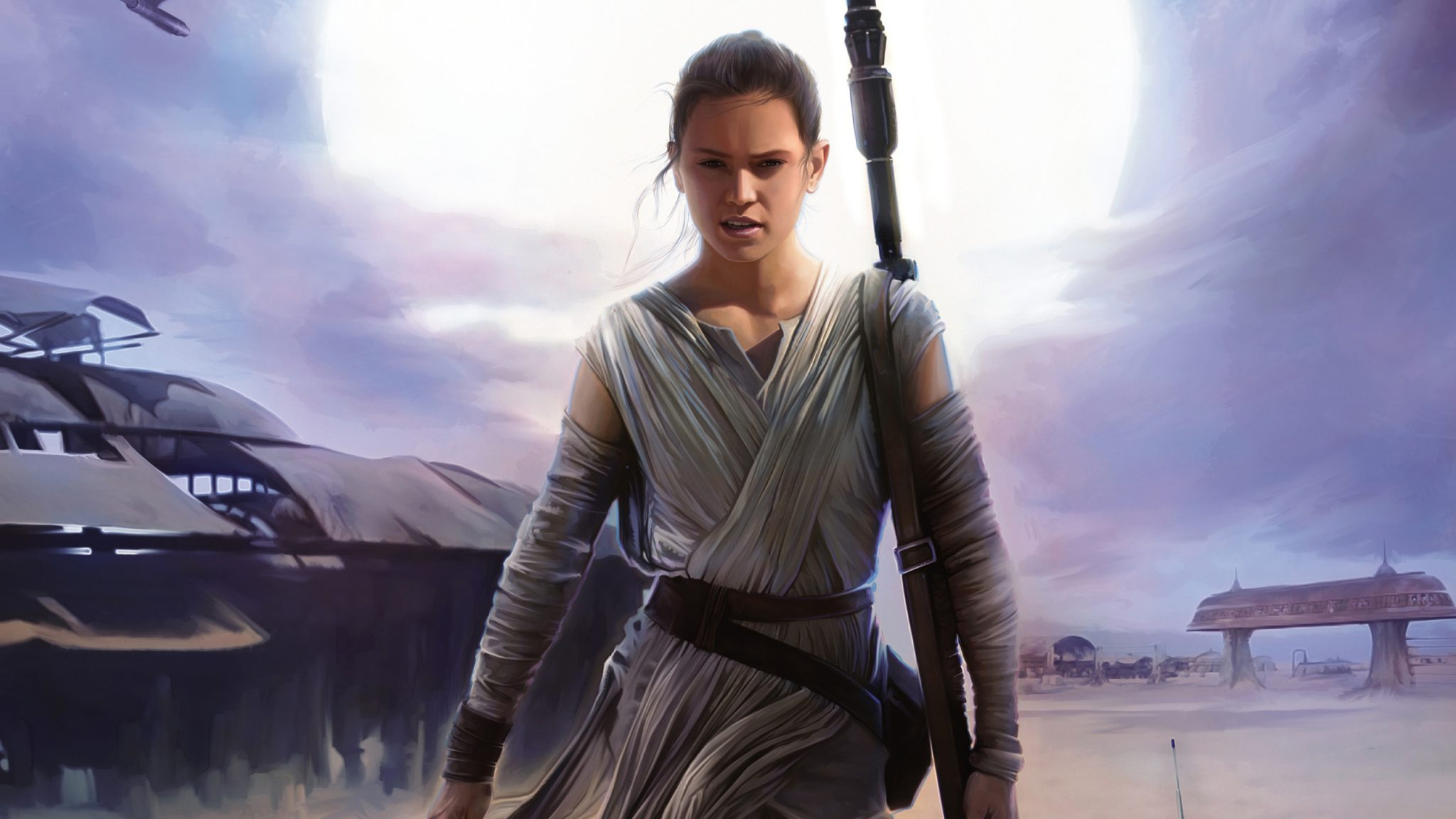 For Now, Rey From 'Star Wars: The Force Awakens' Is Not A Great Character