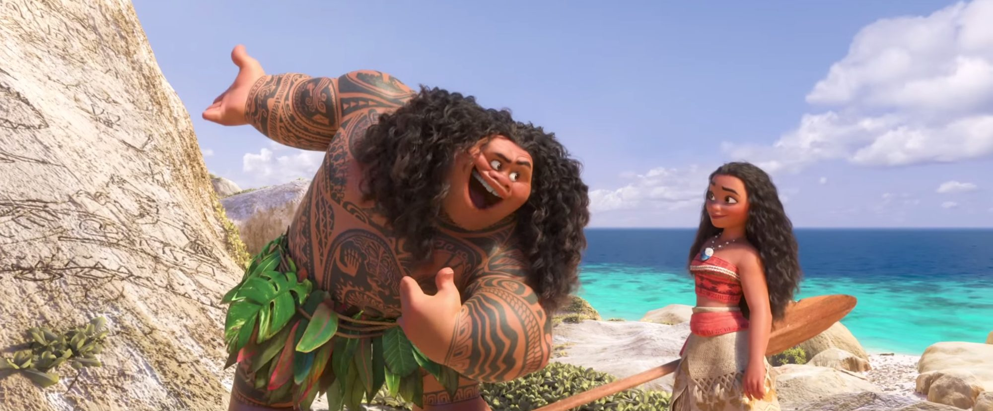 """8906f56451f The pivotal line between Maui and Moana is what specifically points this  out. Maui tells Moana she is a """"princess"""
