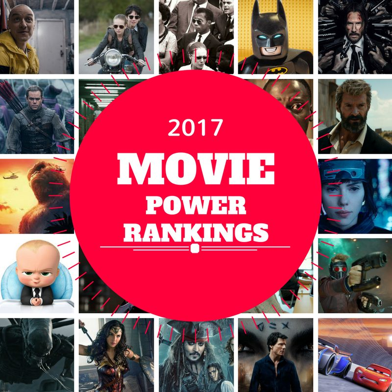 2017 Movie Power Rankings